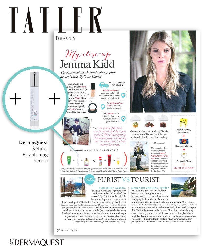 Jemma Kidd Loves Dermaquest Retinol Brightening Serum