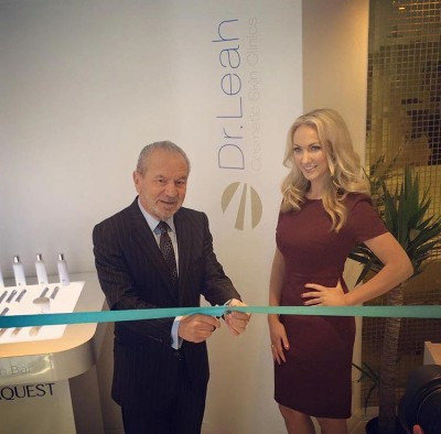 Apprentice Winner Dr Leah Launches New Clinic Dermapure